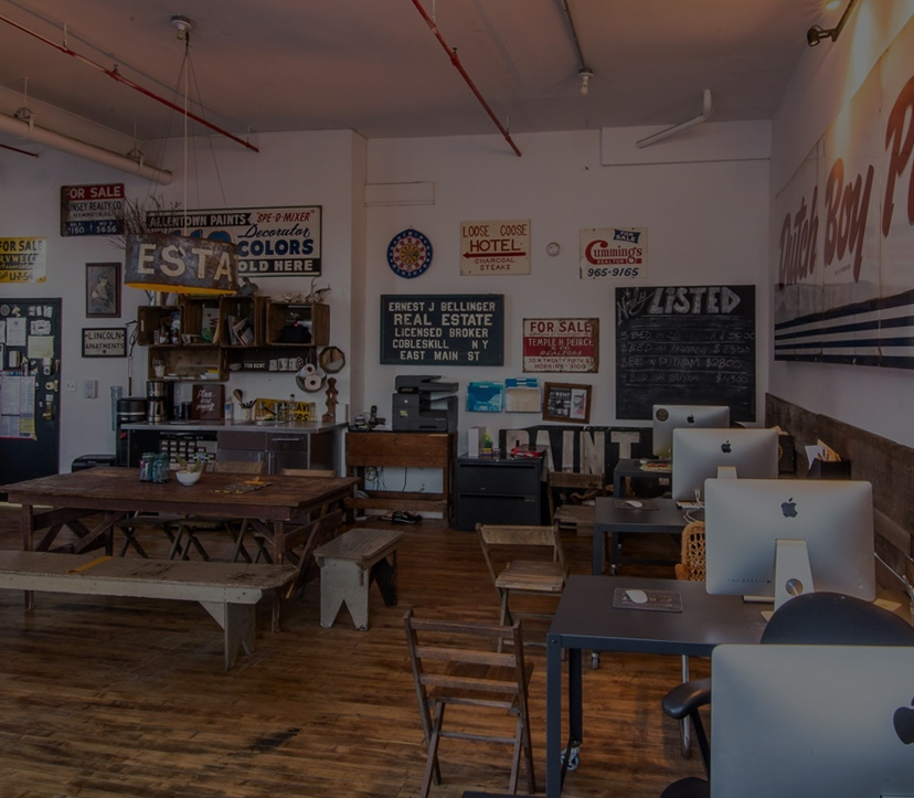a photo of the nooklyn bushwick office